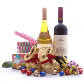 Bountiful Burrow Wine Basket