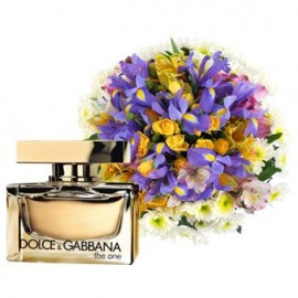 Hints Of Gold with Dolce & Gabbana The One