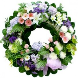 Seasonal Funeral Wreath