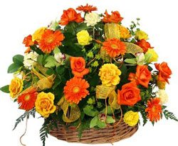 Rejoice in Love Flower Basket